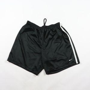 90s Nike Mens Large Swoosh Logo Soccer Shorts
